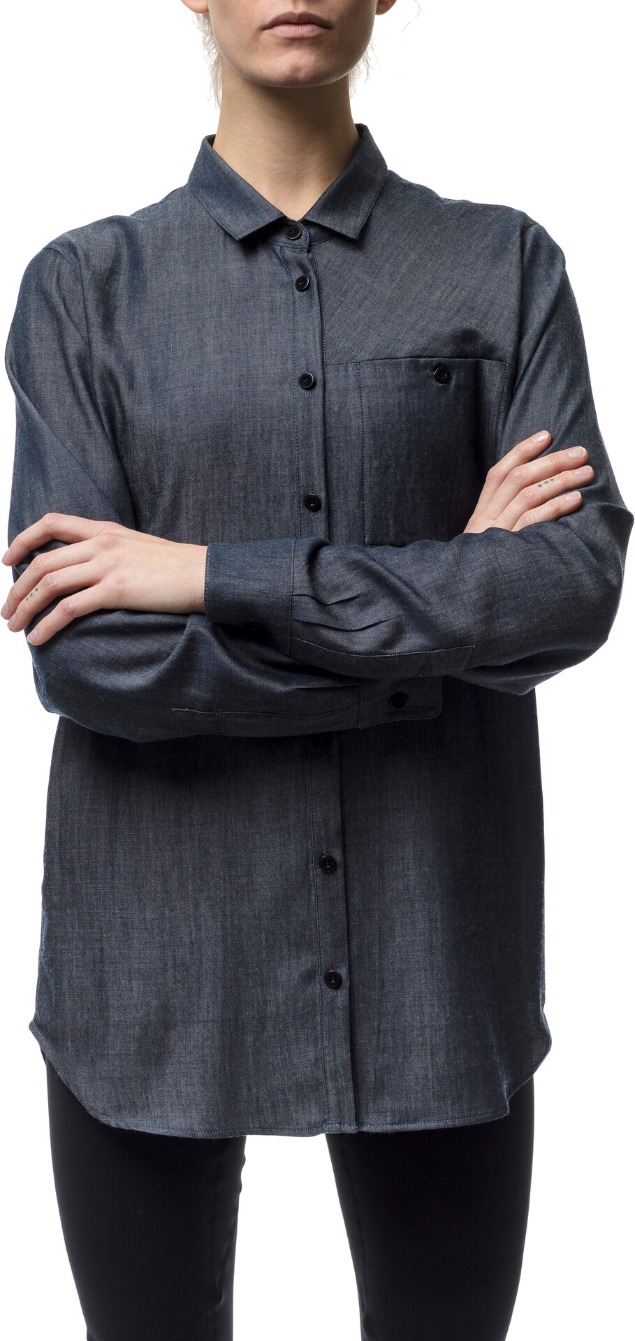 Houdini W's Out And About Shirt Blå Blå Blå Illusion (2019) 193e42